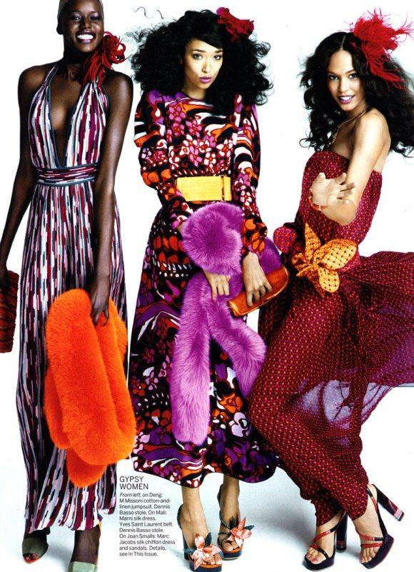 Vogue US March 2011 6