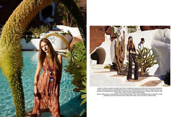 Ylonka Verheul Harpers Bazaar UK April 2011