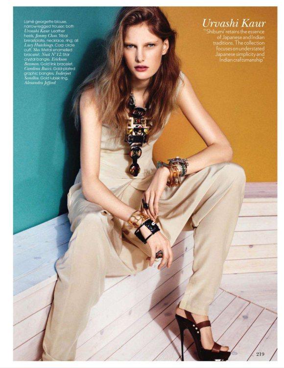 Ylonka Verheul Vogue India March 2011