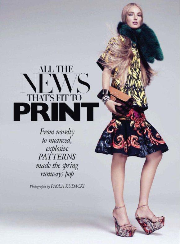 Ymre Stiekema Harpers Bazaar US March 2011 3