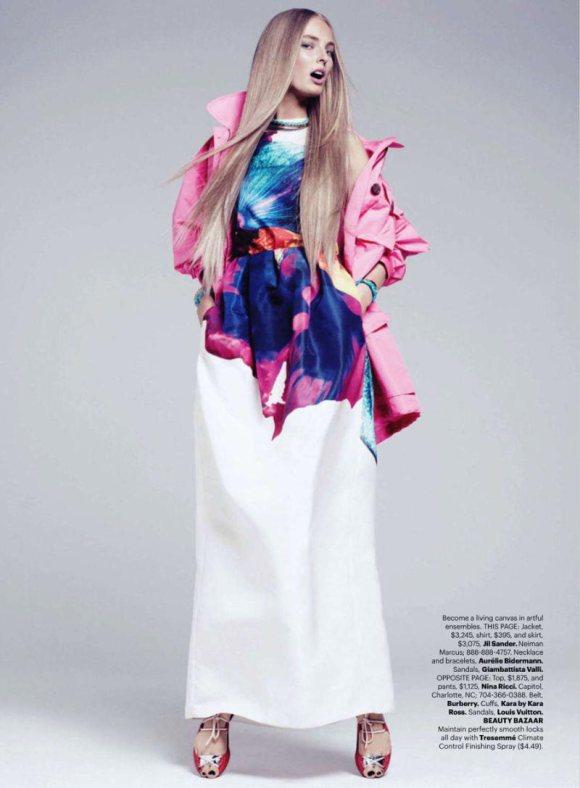 Ymre Stiekema Harpers Bazaar US March 2011 5