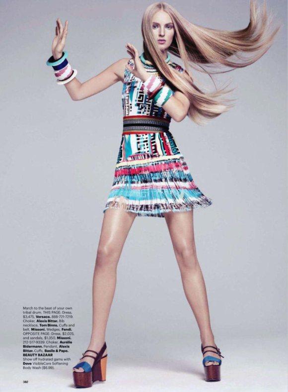 Ymre Stiekema Harpers Bazaar US March 2011 6