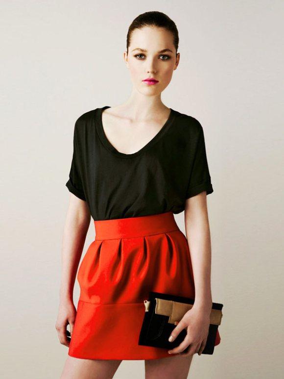 Zara March 2011 Lookbook 1