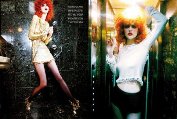 Ann Ward Vogue Ann Ward Features Inside Vogue
