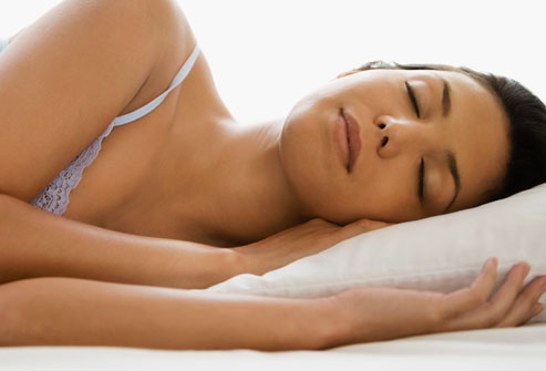 remove makeup before sleeping