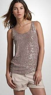 wearing sequin dress casual
