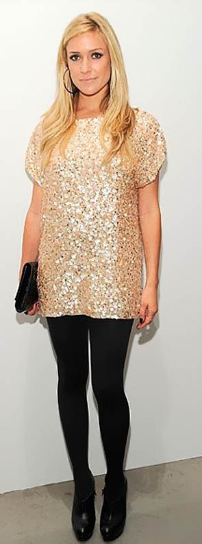 wearing sequin dress formal-2