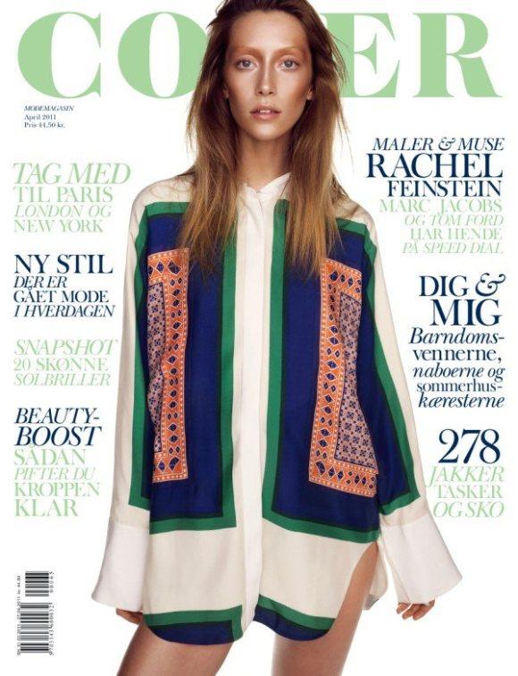 Alana Zimmer Cover Magazine April 2011
