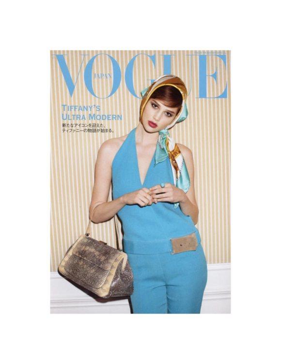 Anais Pouliot Vogue Japan May 2011