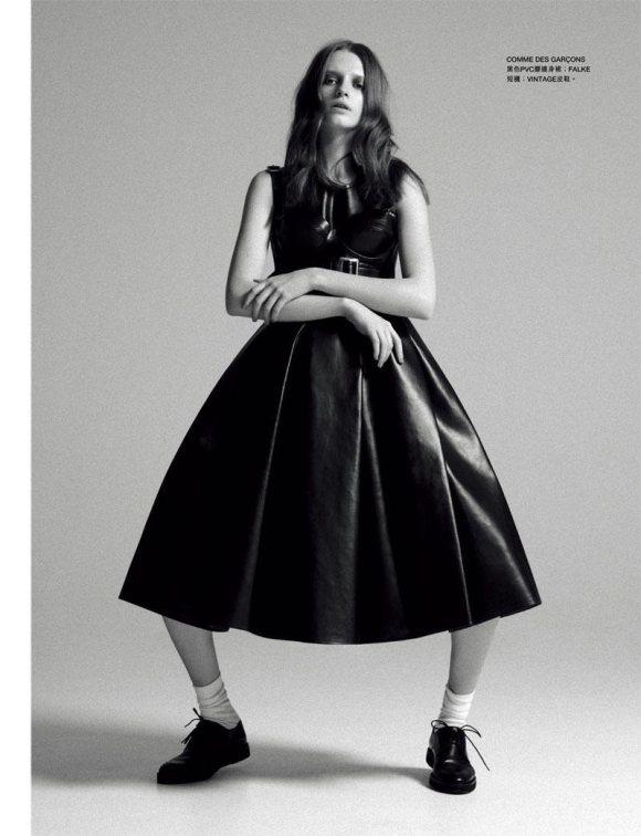 Anastasia Kuznetsova Harpers Bazaar Hong Kong