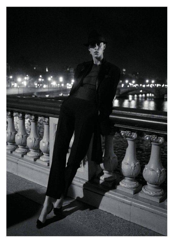 Anja Rubik Vogue Paris May 2011