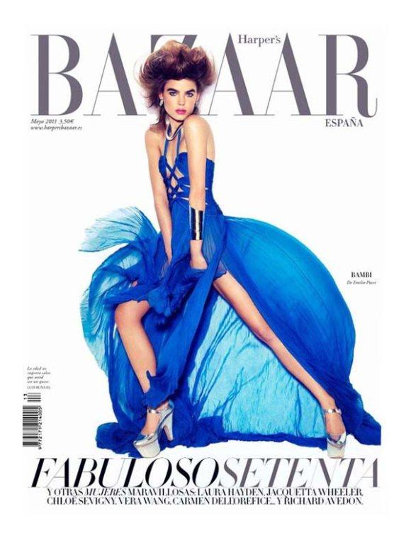Bambi Harpers Bazaar Spain May 2011