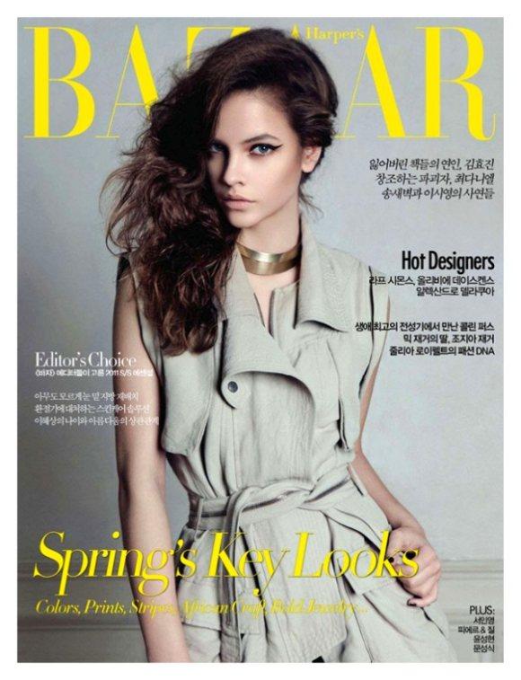 Barbara Palvin Harpers Bazaar Korea April