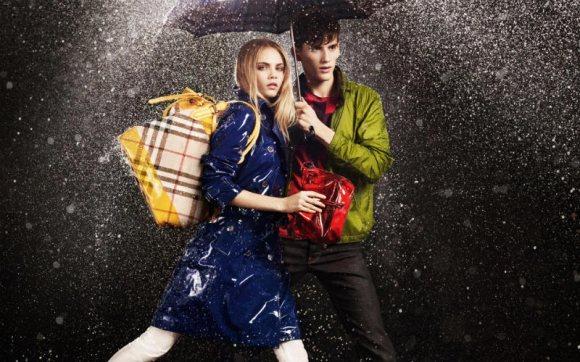 Burberry April Showers Campaign 2011