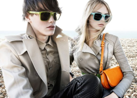 Burberry Brights Spring 2011 Campaign