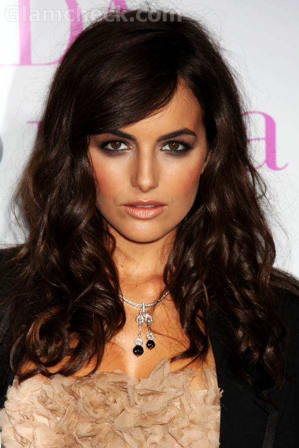 Camilla Belle Messy Hairstyle