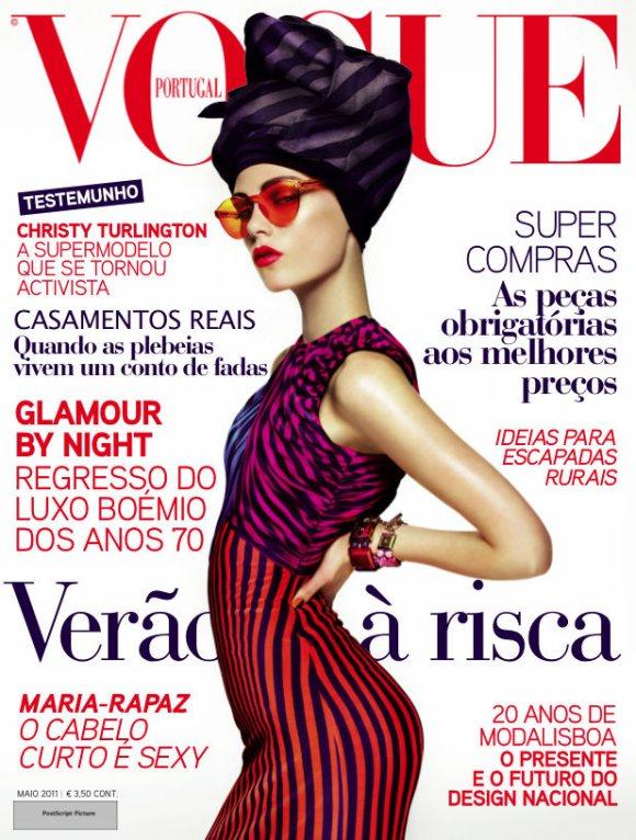 Caroline Brasch Nielsen Vogue Portugal May 2011