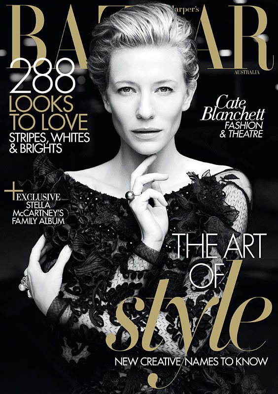 Cate Blanchett Harpers Bazaar Australia May