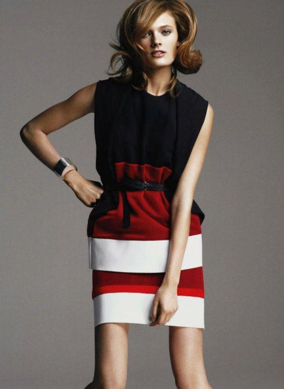Constance Jablonski Harpers Bazaar US May 2011
