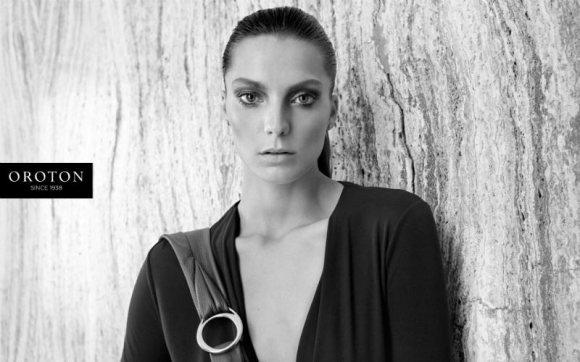 Daria Werbowy Oroton Fall 2011 Campaign