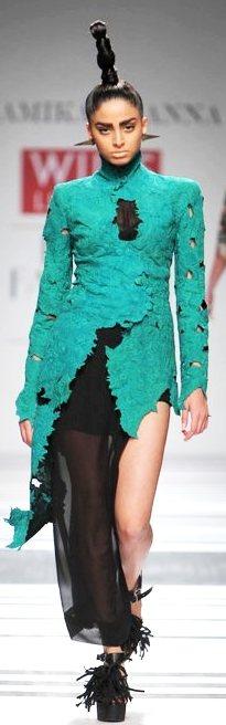Designer Anamika Khanna A-W 2011-2