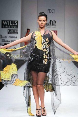 Designer Niket Jainee  A-W 2011-1