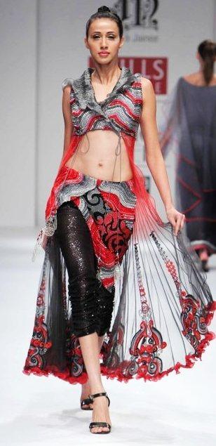 Designer Niket Jainee  A-W 2011-2