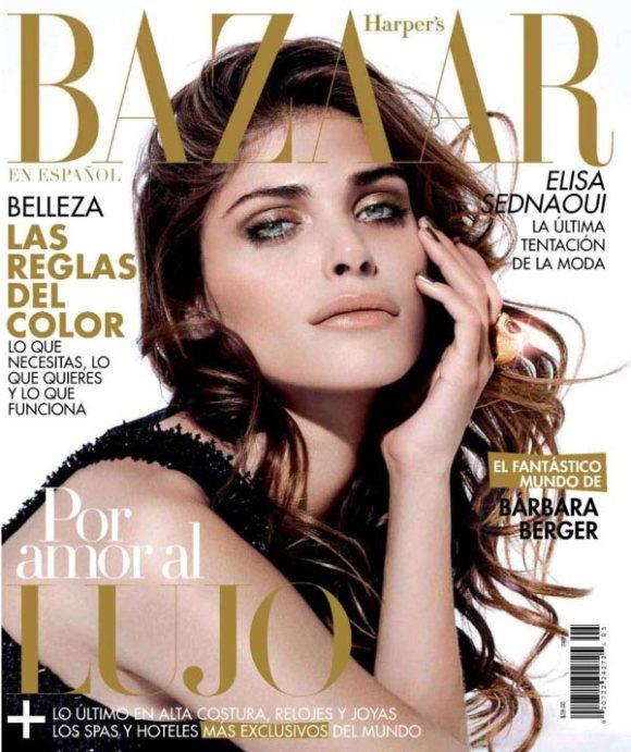 Elisa Sednaoui Harpers Bazaar Mexico May 2011
