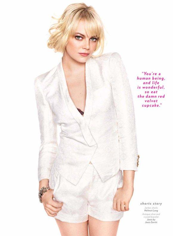 Emma Stone Glamour May 2011