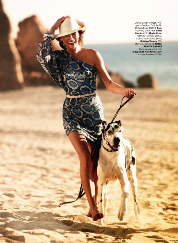 Erin Wasson Harpers Bazaar US May 2011