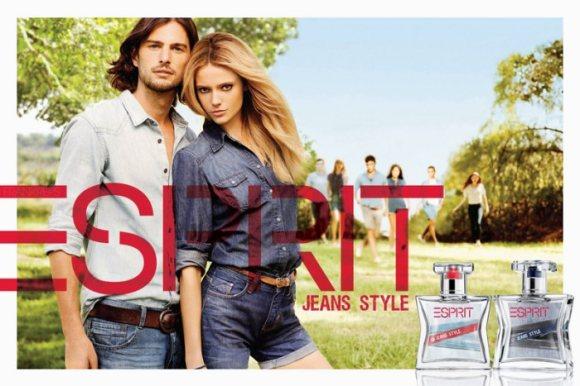 Esprit Jeans Style Fragrance Campaign