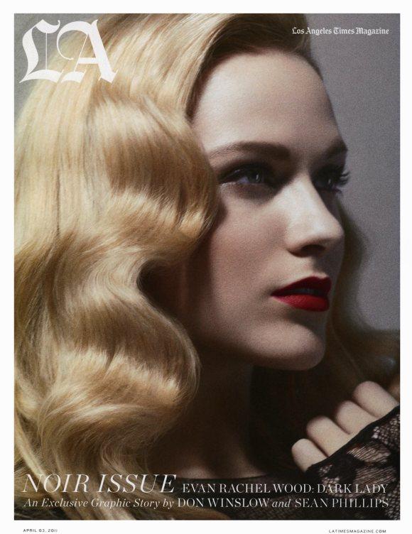 Evan Rachel Wood LA Times Magazine April