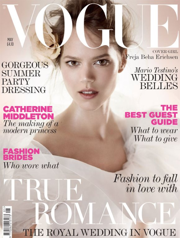 Freja Beha Erichsen Vogue UK May 2011