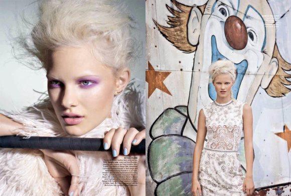 Hannah Holman Vogue Australia May 2011