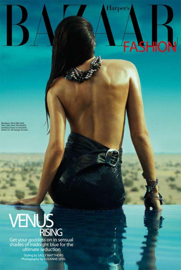 Harpers Bazaar Arabia April 2011