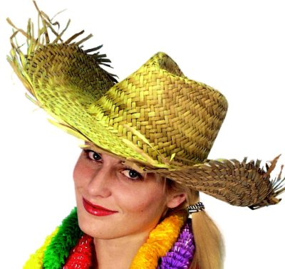 Hawaiian straw hats