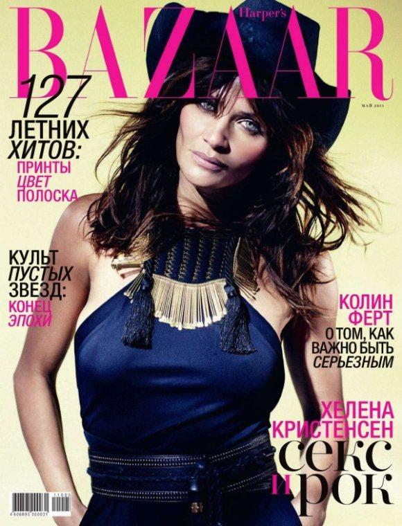 Helena Harpers Bazaar Russia May 2011