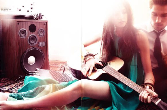 Jacquelyn Jablonski HM Magazine Spring
