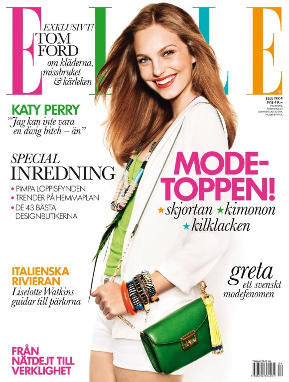 Josefine Ekman Nilsson Elle Sweden April 2011