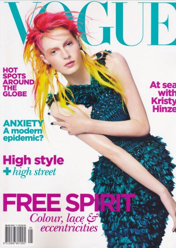Julia Nobis Vogue Australia May