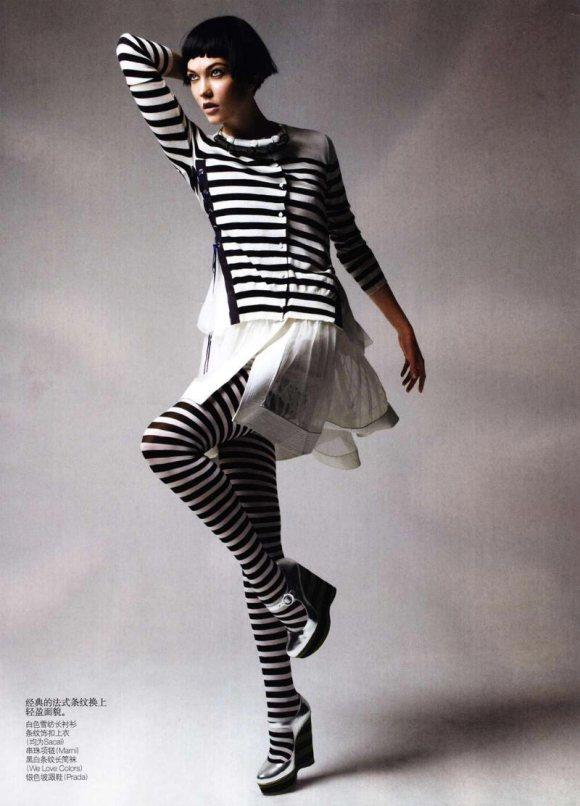 Karlie Kloss Vogue China May 2011