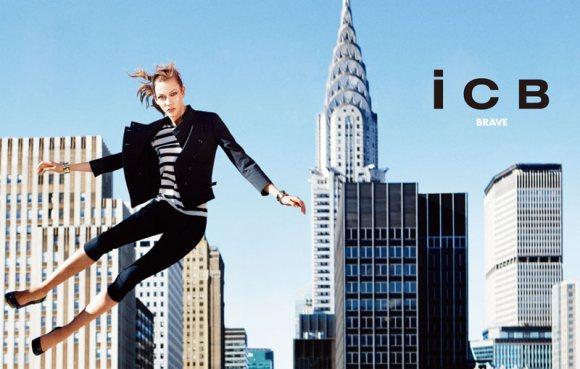 Karlie Kloss iCB Spring 2011 Campaign