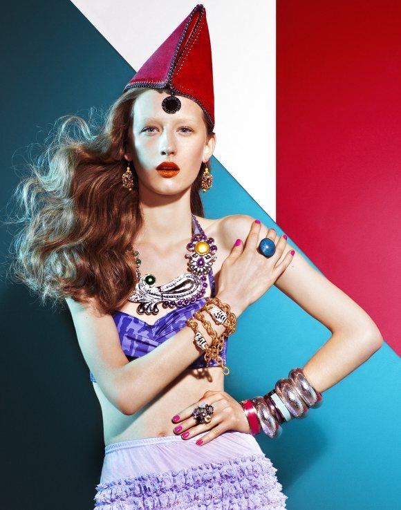 Kasia Wrobel Madame Figaro Greece March