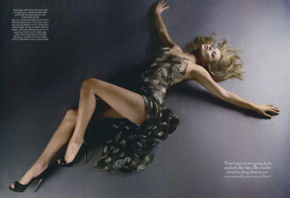 Kate Moss Harpers Bazaar UK May 2011