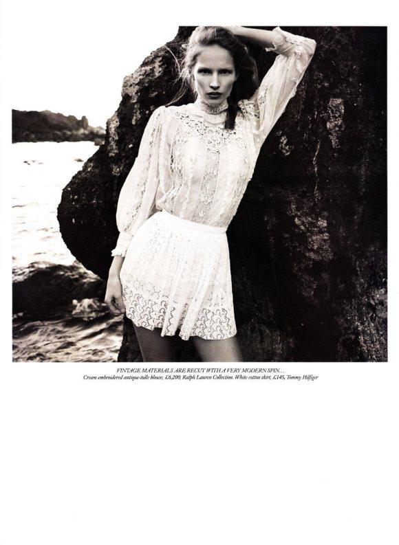 Katrin Thormann Harpers Bazaar UK May 2011