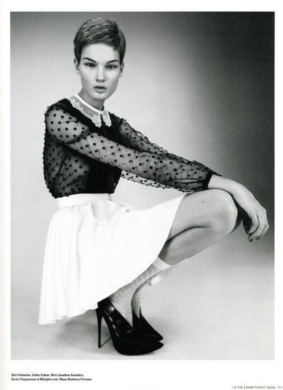 Kirsi Pyrhonen i D Magazine Spring