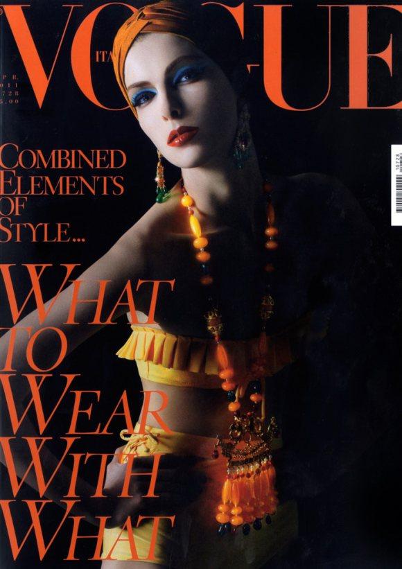 Kristina Salinovic Vogue Italia April