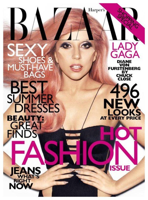 Lady Gaga Harpers Bazaar US May 2011