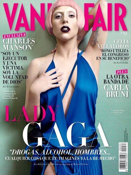 Lady Gaga Vanity Fair Spain May 2011