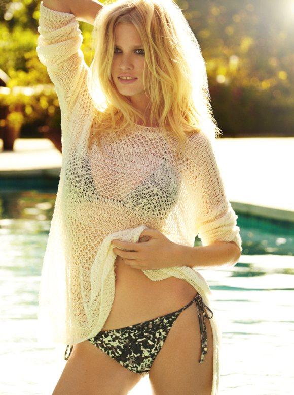 Lara Stone Vogue US April 2011